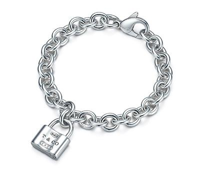 Tiffany & Co. 1837 lock bracelet