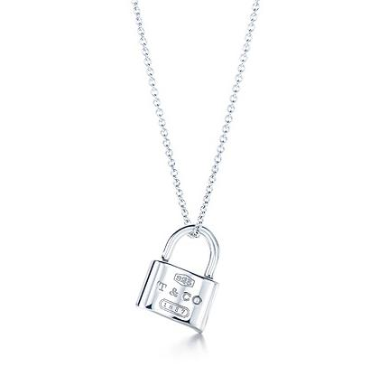 Tiffany & Co. 1837 Lock Pendant