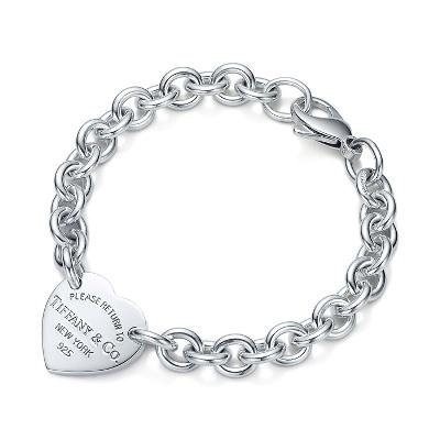 """Return to Tiffany"" Heart Tag Choker Bracelet"