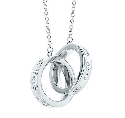 Tiffany & Co. 1837 Interlocking Circles Pendant