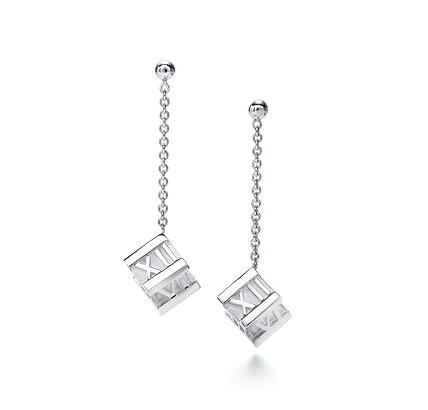 Tiffany Atlas Cube Drop Earrings