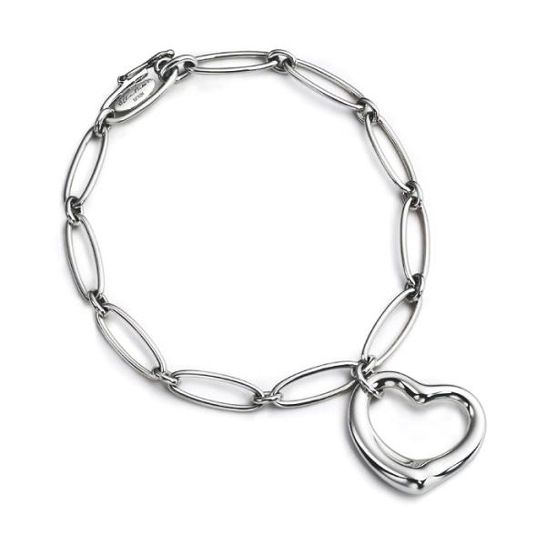 Elsa Peretti Open Heart Link Bracelet Medium