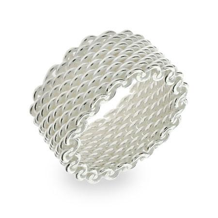 Tiffany & Co. Somerset Mesh Ring