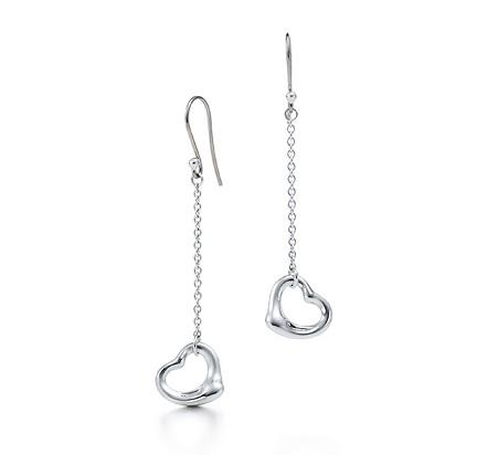 Elsa Peretti Open Heart Drop Earrings
