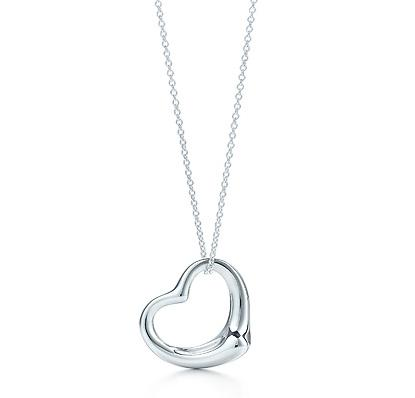Elsa Peretti Open Heart Pendant MEDIUM