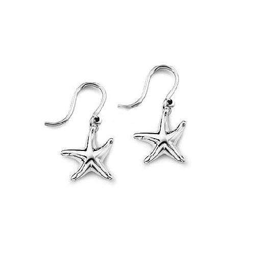 Elsa Peretti Mini Starfish Drop Earrings
