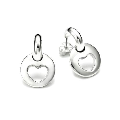 Tiffany & Co. Stencil Heart Earrings