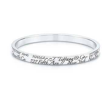Tiffany Notes Bangle