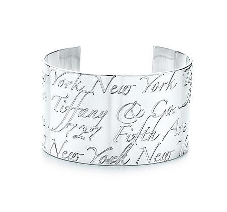 Tiffany Notes Cuff Wide