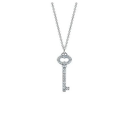 Tiffany & Co. Mini Vintage Oval Key Charm Pendant