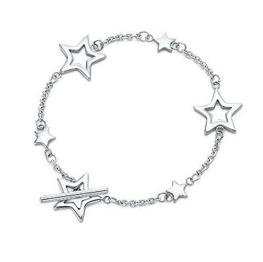 Tiffany & Co. Star Link Toggle Bracelet