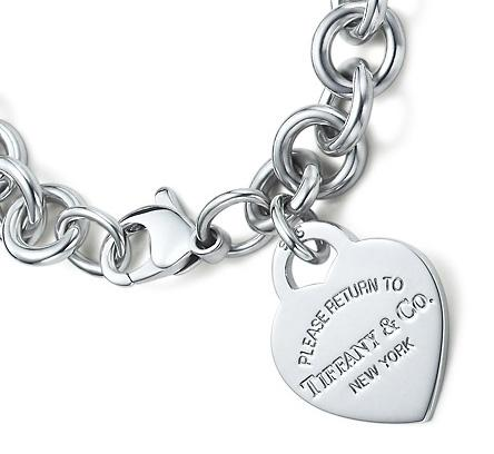 """Return to Tiffany"" Heart Tag Bracelet"