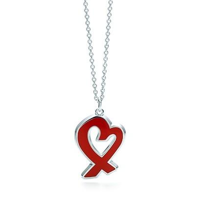 Paloma Picasso Red Loving Heart Pendant